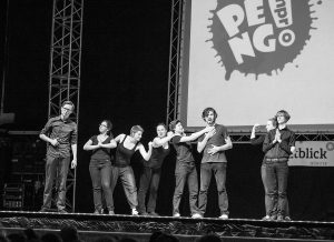 Peng! Improtheater beim Science Slam